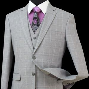 Other - LZU19VR-WOOL BLEND, REGULAR FIT. 3PCS Suit